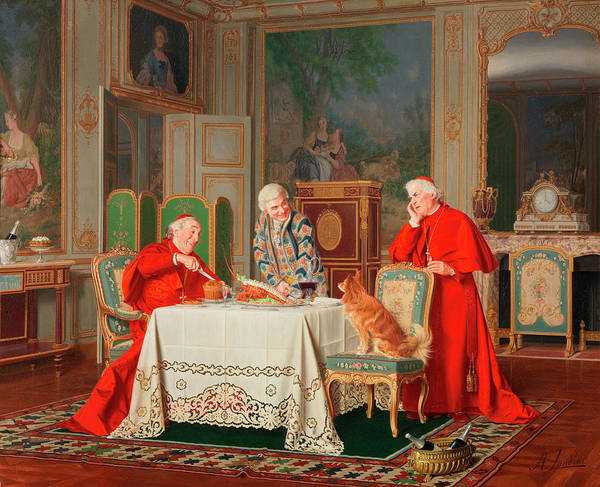 Feast Painting - The Feast by Andrea Landini