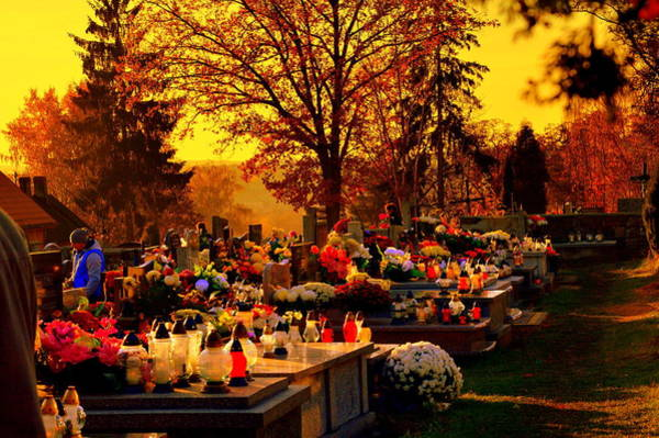 Gorecki Photograph - The Feast Of The Dead by Henryk Gorecki