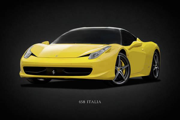 458 Photograph - The Ferrari 458 by Mark Rogan