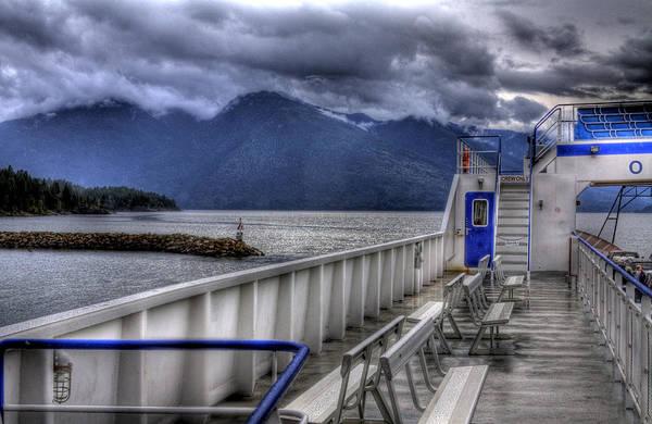 Photograph - The Ferry At Kootenai Bay by Lee Santa