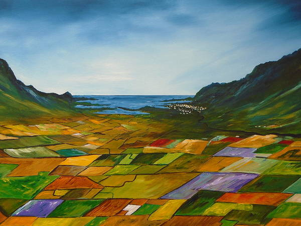 Painting - The Fields Of Dingle by Conor Murphy