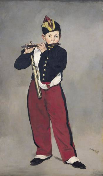 Imperial Painting - The Fifer by Edouard Manet