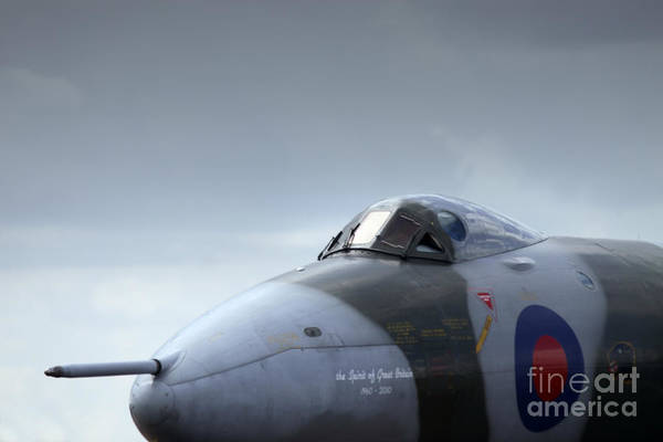 Vulcan Bomber Photograph - The Fifty Year Old Lady  by Angel Ciesniarska
