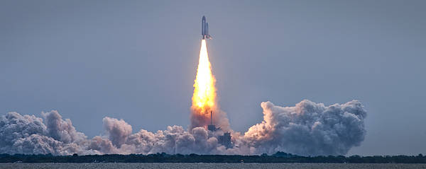Space Shuttle Photograph - The Final Voyage by Ryan Heffron