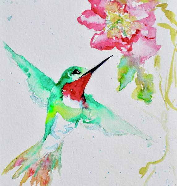 Painting - The Finest Jewel Close Up by Beverley Harper Tinsley