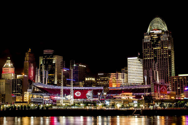 Ohio River Photograph - The Finishing Touches by James Patterson