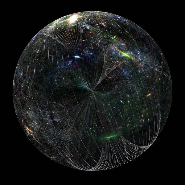 Wall Art - Digital Art - The Finite Universe by Richard Ortolano