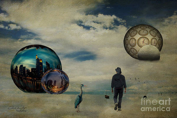 Digital Art - The First Step ... by Chris Armytage