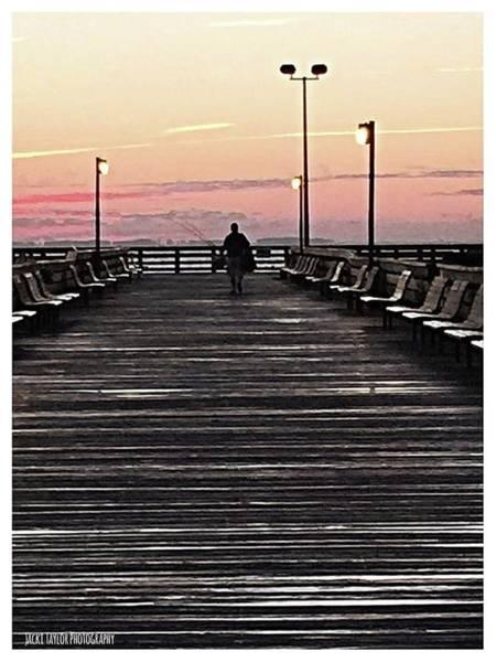 Rod Taylor Photograph - The Fisherman by Jacki Taylor