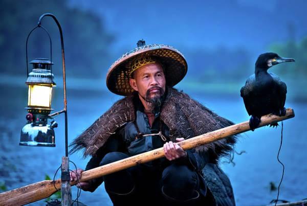 Photograph - The Fisherman by Matt Shiffler