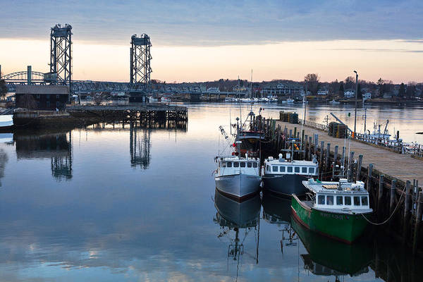 Wall Art - Photograph - The Fishing Fleet - Portsmouth by Eric Gendron