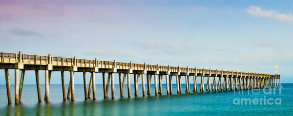 Photograph - The Fishing Pier by Mechala Matthews