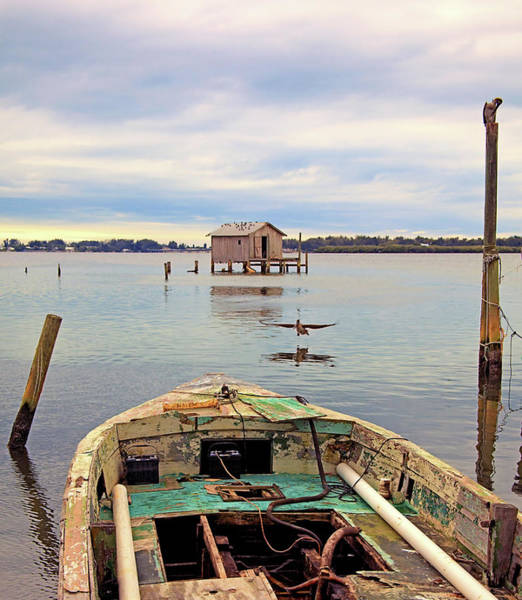 Photograph - The Fishing Shack by Karl Ford