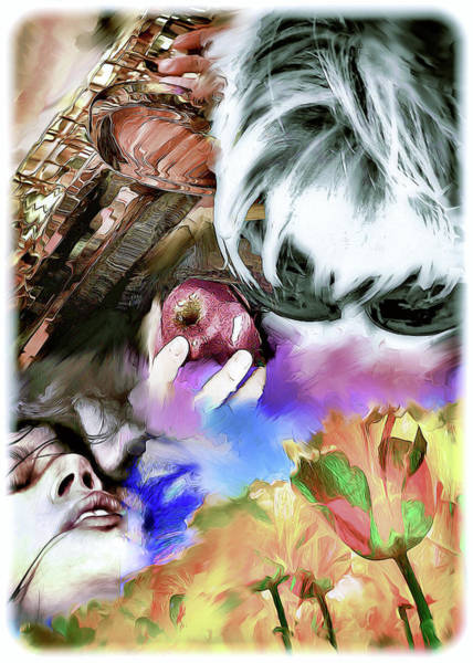 Digital Art - The Five Senses by Pennie McCracken
