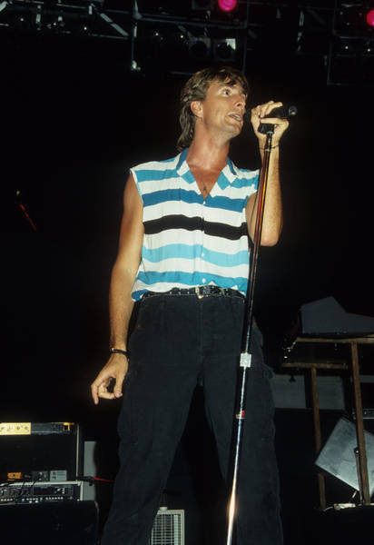 Photograph - Cy Curnin Of The Fixx by Rich Fuscia