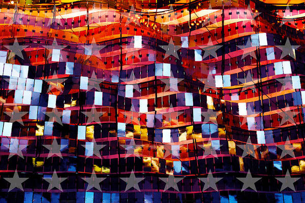 Photograph - The Flag by Susan Vineyard