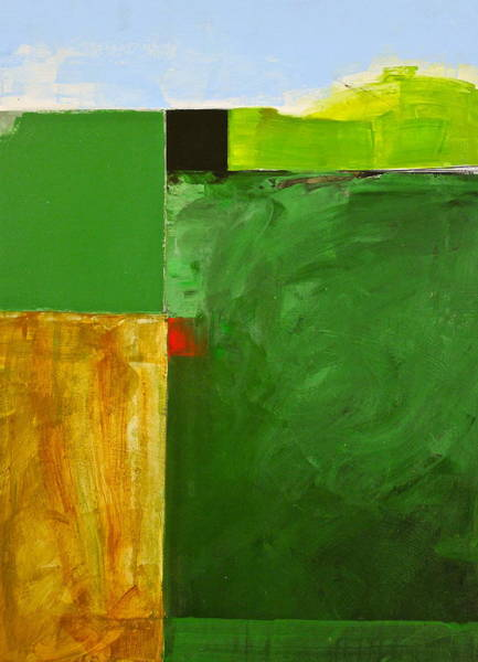 Painting - The Flat Lands by Cliff Spohn