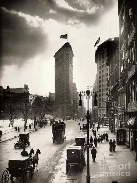 Wall Art - Photograph - The Flatiron Building by Jon Neidert