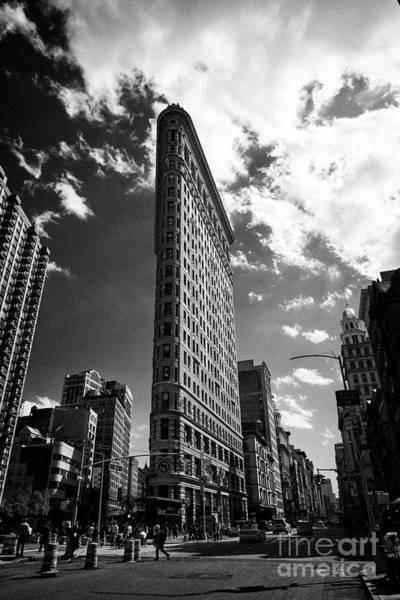 Wall Art - Photograph - the flatiron originally the fuller building manhattan New York City USA by Joe Fox