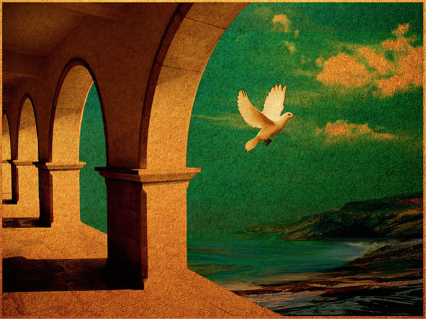 Realization Digital Art - The Flight by Christine Gentilhomme