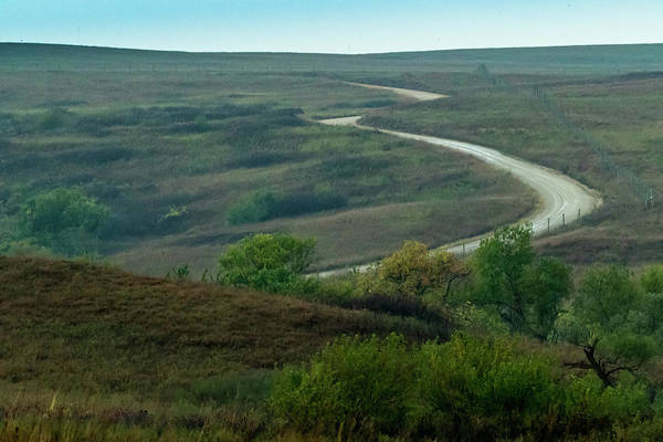 Photograph - The Flint Hills by Jay Stockhaus
