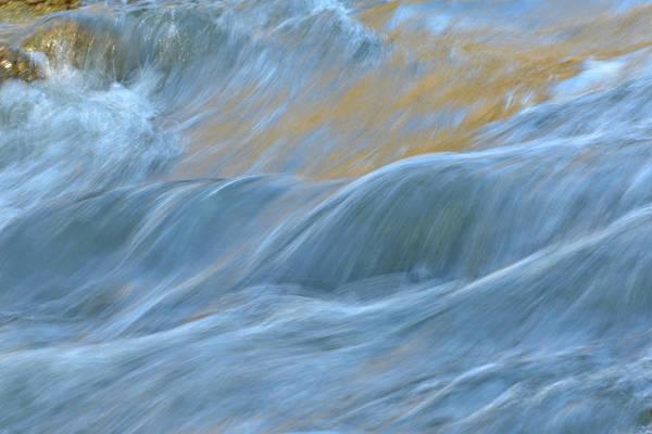Photograph - The Flow 4 by Fraida Gutovich