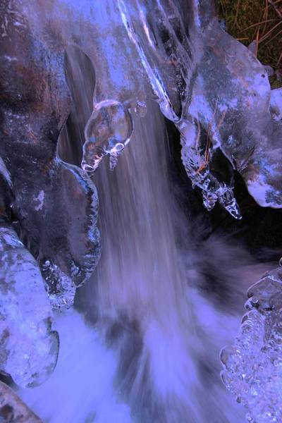 Photograph - The Flow Of Winter-2 by Sean Sarsfield