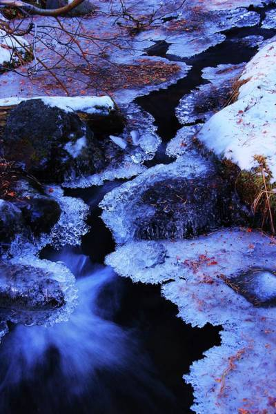 Photograph - The Flow Of Winter by Sean Sarsfield