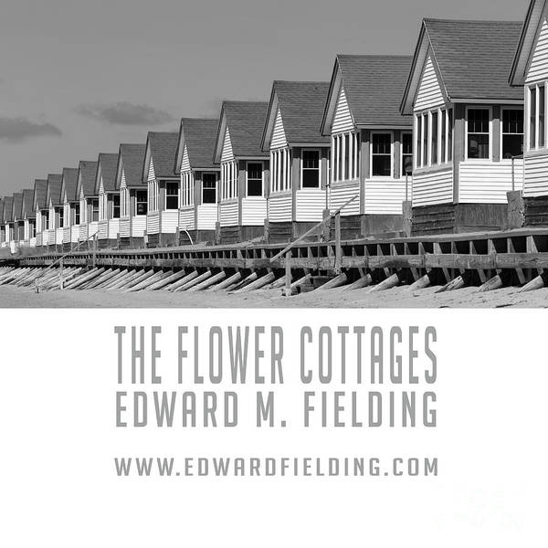 Photograph - The Flower Cottages By Edward M. Fielding by Edward Fielding
