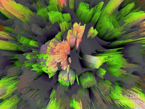 Cultivation Digital Art - The Flower Factory 2 by Moustafa Al Hatter
