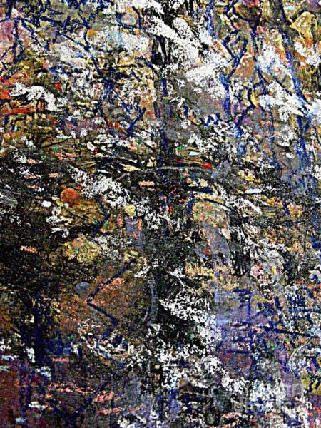 Variation Mixed Media - The Flowering Tree 2 by Nancy Kane Chapman
