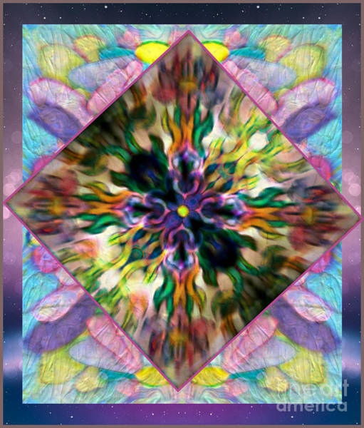 Mixed Media - The Flowering Vine by Wbk