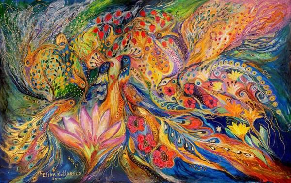 Wall Art - Painting - The Flowers Of Sea by Elena Kotliarker