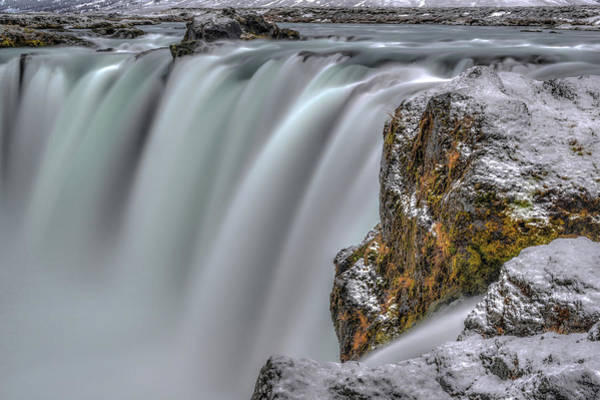 Photograph - The Flowing Godafoss Falls by Matt Swinden