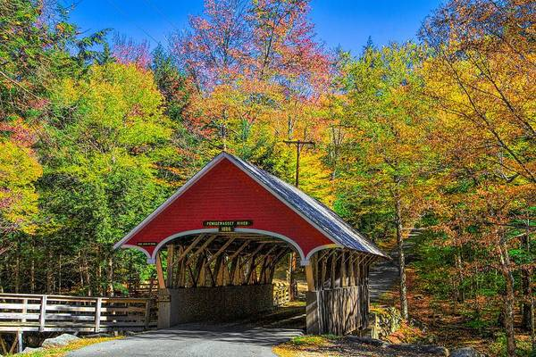 Photograph - The Flume Bridge by Dan Sproul