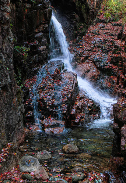 Photograph - The Flume Waterfall by Dan Sproul