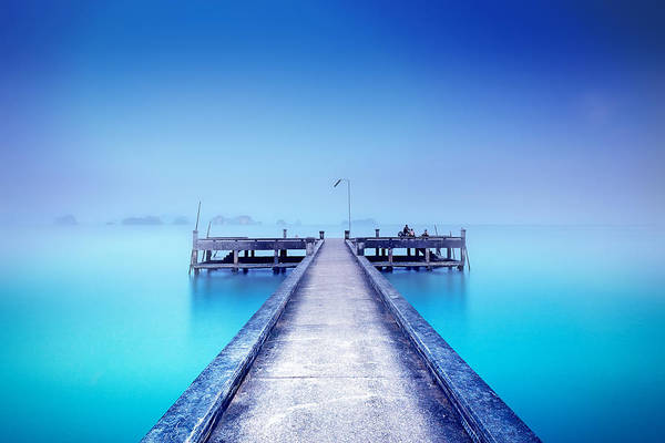 Photograph - The Foggy Morning by Radek Spanninger