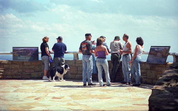 Photograph - The Folks - Cumberland Gap Overlookers by Frank Romeo