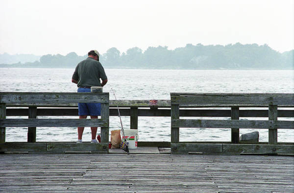 Photograph - The Folks - Fishing 1 by Frank Romeo