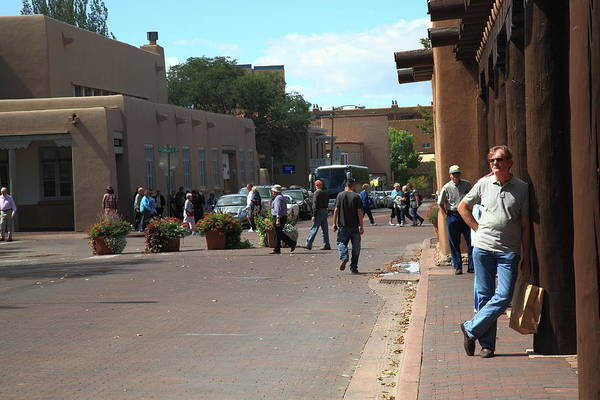 Photograph - The Folks - Santa Fe by Frank Romeo