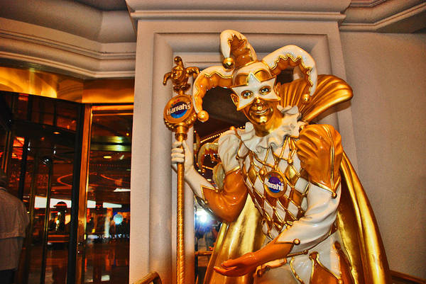 Harrahs Photograph - The Fool by Susanne Van Hulst