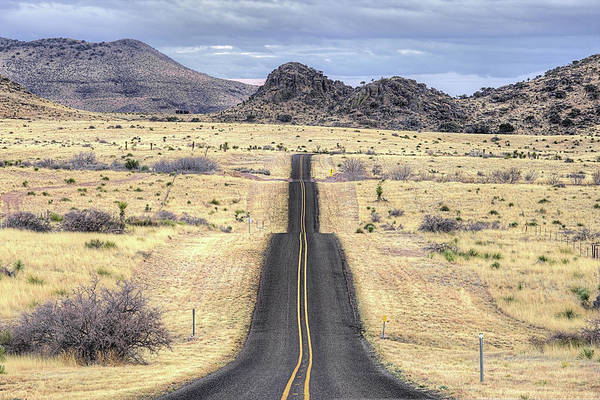 Wall Art - Photograph - The Foothills Of The Davis Mountains by JC Findley