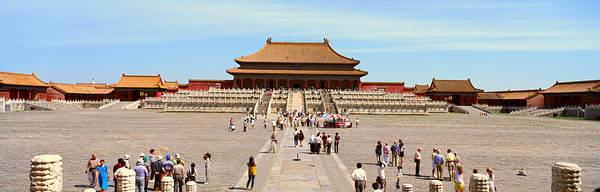 Forbidden City Photograph - The Forbidden City - Tai He Dian Hall by Panoramic Images