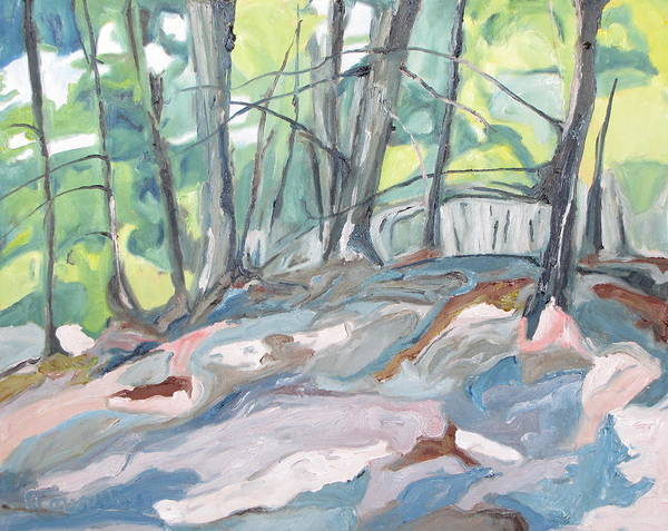 Wall Art - Painting - The Forest Floor by Francois Fournier