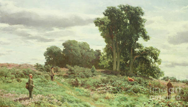 Wall Art - Painting - The Forest Of Meiklour, Perthshire by David Farquharson
