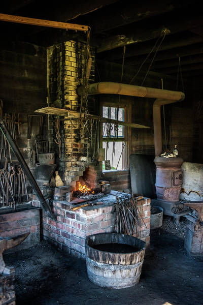 Farrier Photograph - The Forge by Paul Freidlund
