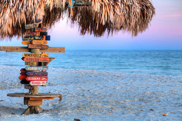 Photograph - The Fort Morgan Tiki Bar by JC Findley