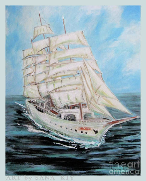Painting - The Fortune Is Coming by Oksana Semenchenko