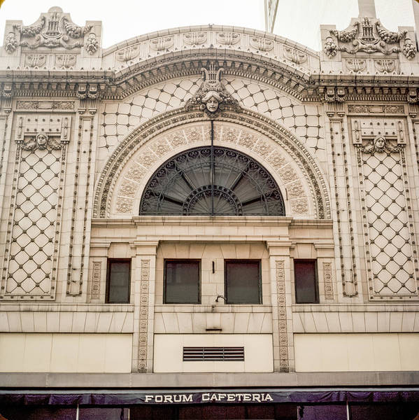 Photograph - The Forum Cafeteria Facade by Mike Evangelist