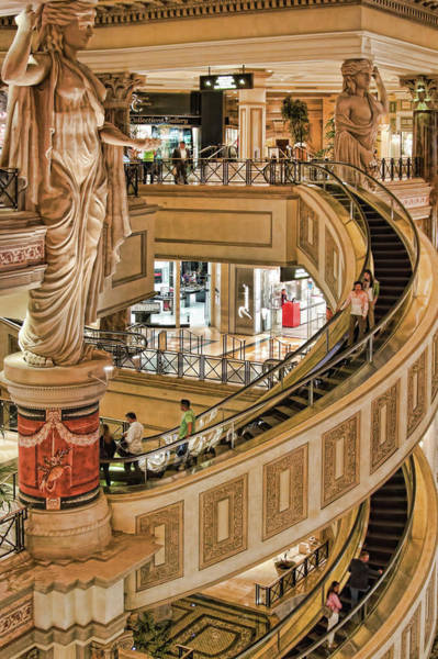 Photograph - The Forum Shops At Caesars Palace, Las Vegas by Tatiana Travelways